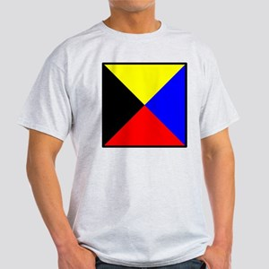Nautical Flag Code Zulu T-Shirt